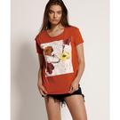ONETEASPOON WW DYNAMIC FLORAL GIRLFRIEND TEE T恤-紅(女)