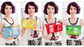 【韓式情人】簡單色彩化妝包盥洗包(加厚款)/收納包/包中包/化妝包/可手提(四色)