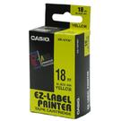 【奇奇文具】卡西歐CASIO XR-18YW1 18mm×8M 黃底黑字 標誌帶