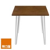 組 - 特力屋萊特 桌 胡桃木/鍍鉻腳