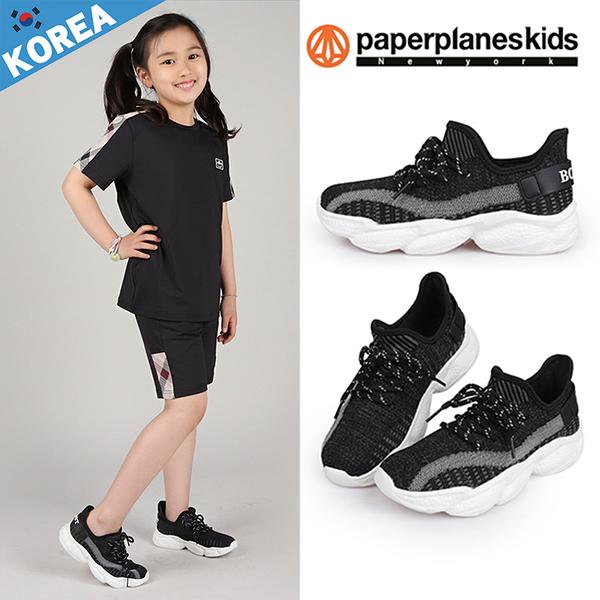 PAPERPLANES紙飛機 童鞋 韓國空運 透氣網布 後跟英文字造型 厚底老爹鞋【B7907025】