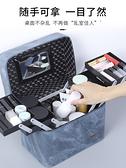 化妝包大容量品網紅收納箱便攜ins風超火盒多功能多層手提女簡約