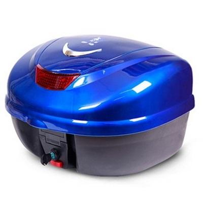 機車後尾箱-雙層防水方便拆卸大容量摩托車置物箱用品8色73q6【時尚巴黎】