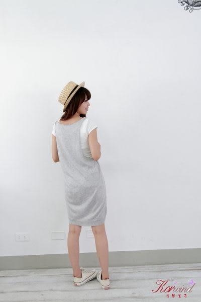 針織背心連身裙