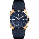Bell & Ross DIVER 青铜潛水機械腕錶 BR0392-D-LU-BR/SCA