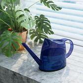 水壺園藝澆花淋花噴壺家用噴水壺長嘴澆花壺植物盆栽澆水器  QM『艾麗花園』