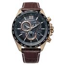 CITIZEN/星辰 光動能電波錶 三眼計時手錶 CB5839-15E /45mm