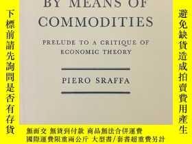 二手書博民逛書店Production罕見of Commodities by Me