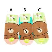 【KP】熊大兒童襪 直版襪 LINE 卡通襪 襪子 短襪 15-22cm DTT0522132
