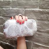 戒指頭晚宴包宴會包手包水?女包手拿小包 側背包斜背包歐美  『魔法鞋櫃』