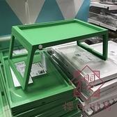 寢室折疊電腦桌 塑料輕便寫字桌子床上用懶人桌【櫻田川島】