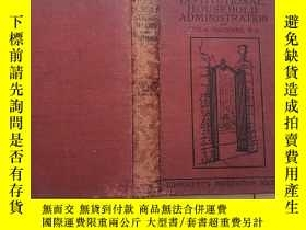 二手書博民逛書店institutional罕見household administration(戶政制度)1923年英文原版 21