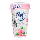 消臭大師 貓盆消臭粒-純淨花香 450ml(9罐/箱)-箱購