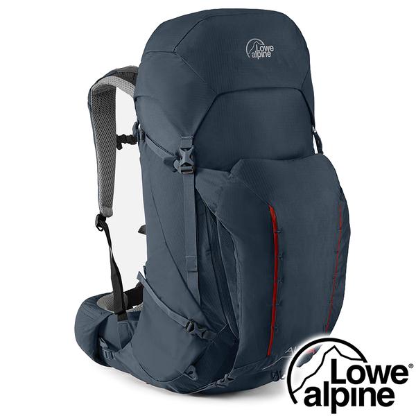 【英國 LOWE ALPINE】Altus 42:47 輕量健行登山背包42+5L『藍夜』FMQ-11 登山.露營.戶外.後背包
