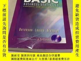 二手書博民逛書店BASIC罕見BUSINESS STATISTICS (基本業務