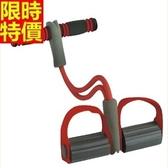 腳踏彈力器-仰臥起坐肌肉訓練塑身健身器材69j35[時尚巴黎]