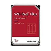 硬碟 WD 1TB 3.5吋 SATA3 紅標Plus NAS專用硬碟 WD10EFRX