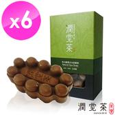 【茶寶 潤覺茶】茶酵素SPA按摩皂(6入組)