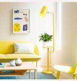 落地燈 創意ins北歐落地燈臥室床頭馬卡龍客廳簡約現代茶幾落地臺燈·快速出貨YTL