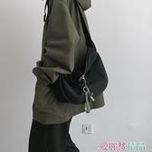 斜背包小包包女潮斜背百搭側背ins風學生韓版ulzzang日系帆布包 愛麗絲