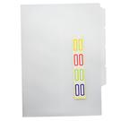 【奇奇文具】新德牌Sander 16-105 三層透明夾307x220mm
