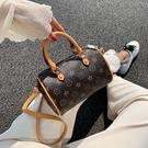 斜背包/側背包 包包2021新款潮小包高級感波士頓枕頭包女手提春夏款網紅百搭斜挎