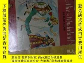 二手書博民逛書店alice罕見in wonderland to read alo