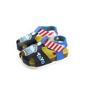 SUPER WINGS  涼鞋 黑/藍色 小童 T83805-550 no962