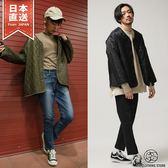 鋪棉開襟外套 日式無領夾克 3色