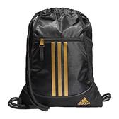 Adidas- 聯盟後背袋包(黑/金色)