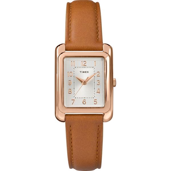 【TIMEX】天美時 風格系列 知性女錶(駝色 TXTW2R89500)