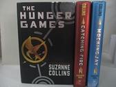 【書寶二手書T1/原文小說_E4U】The Hunger Games Trilogy Boxed Set_Collins, Suzanne_3本合售