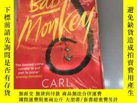 二手書博民逛書店Bad罕見Monkey carl hiaasenY279018