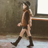 年末鉅惠 女童馬甲燈芯絨冬季外穿條絨馬甲新款洋氣時尚保暖上衣2018冬季