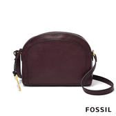 FOSSIL CHELSEA 半月型斜背包-無花果紫紅色 ZB7799503