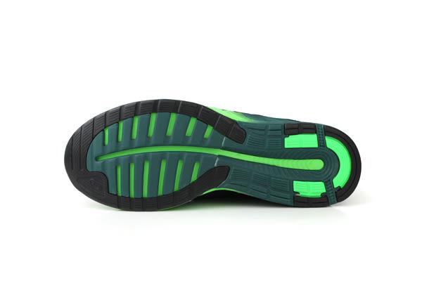 亞瑟士 ASICS fuzeX 運動鞋 男鞋 黑綠色 T639N-9093 no286