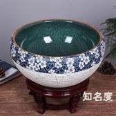 魚缸 陶瓷魚缸大號養魚盆荷花缸烏龜缸碗蓮睡蓮盆客廳風水金魚缸T 3色