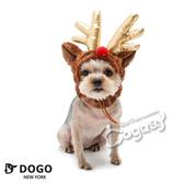 狗日子紐約《DOGO》金角麋鹿帽 XS/S/M/L 頭套 變裝造型 寵物變裝 造型帽子