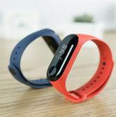 小米手環3多彩腕帶智慧運動手環替換帶親膚材質透氣吸汗  電購3C