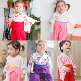 連身衣 日式 和服 造型服 女寶寶 爬服 哈衣 扮演服 派對 Augelute Baby 37301