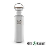 Klean Kanteen 27oz Reflect 特別版-竹片鋼蓋 不銹鋼瓶 原色鋼 K27SSLRF