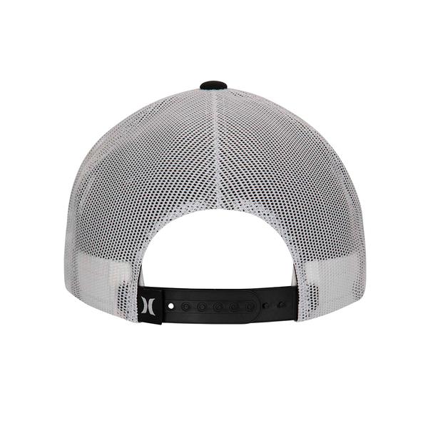 HURLEY|配件 PRINTED SQUARE TRUCKER BRIGHT CRIMSON 棒球帽