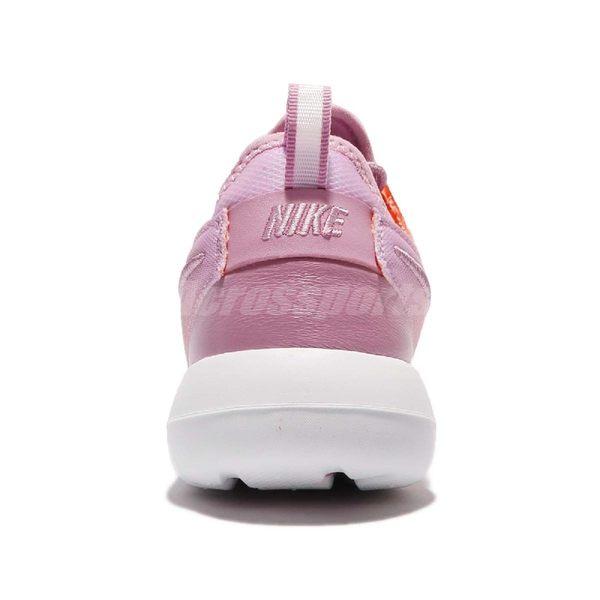 【US6.5-NG出清】Nike 休閒慢跑鞋 Wmns Roshe Two BR 左鞋面色差 橘 紫 女鞋 運動鞋【PUMP306】