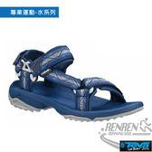 TEVA  男休閒涼鞋 Terra Fi Lite (藍) 獨家織帶 多點式調整TV1001473GRCB