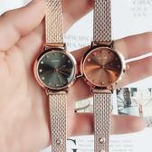 時尚潮流文藝時裝女錶飾品手錶 簡約百搭小錶盤學生錶《小師妹》yw171