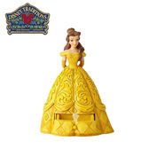 【正版授權】Enesco 貝兒公主 抽屜盒 塑像 公仔 精品雕塑 美女與野獸 Belle 迪士尼 Disney - 959476