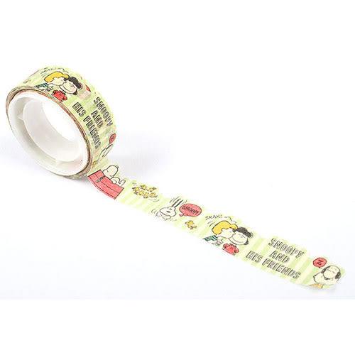 《Sanrio》SNOOPY花邊裝飾造型紙膠帶(好朋友生活)_906514