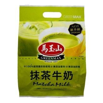 馬玉山 抹茶牛奶 (15g x14入)/袋【康鄰超市】