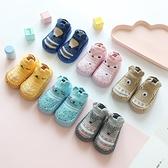新款春秋卡通嬰兒鞋襪防滑皮底兒童地板襪毛圈保暖寶寶襪子0-3 幸福第一站 幸福第一站