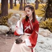 古裝漢服女中國風交領襦裙古裝女超仙仙氣飄逸日常改良明制漢服漢元素 嬡孕哺